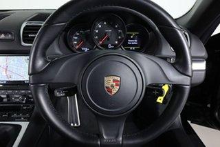 2013 Porsche Boxster 981 MY13 Black 6 Speed Manual Roadster