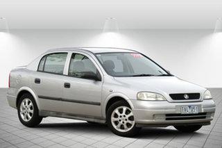 2005 Holden Astra TS MY05 Classic Adventurine Silver 4 Speed Automatic Sedan.