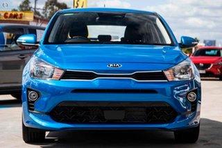 2021 Kia Rio YB MY21 Sport Blue 6 Speed Automatic Hatchback.