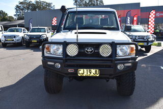 2011 Toyota Landcruiser VDJ79R MY10 Workmate White 5 Speed Manual Cab Chassis