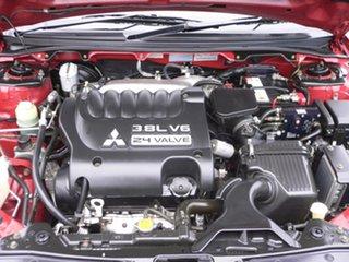 2006 Mitsubishi 380 DB Series 2 ES Burgundy 5 Speed Sports Automatic Sedan