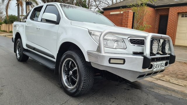 Used Holden Colorado RG MY15 LS (4x4) Prospect, 2015 Holden Colorado RG MY15 LS (4x4) White 6 Speed Automatic Crew Cab Pickup