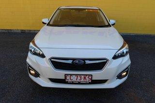 2017 Subaru Impreza G5 MY17 2.0i Premium CVT AWD White 7 Speed Constant Variable Hatchback.