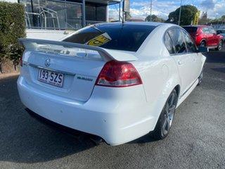 2013 Holden Commodore VE II MY12.5 SV6 White 6 Speed Sports Automatic Sedan