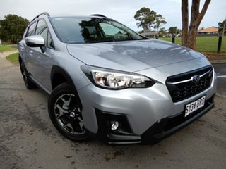 2017 Subaru XV G5X MY18 2.0i-L Lineartronic AWD Silver 7 Speed Constant Variable Wagon.