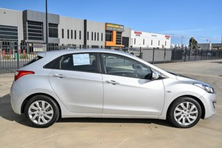2013 Hyundai i30 GD2 Active Silver 6 Speed Sports Automatic Hatchback
