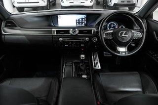 2015 Lexus GS GRL10R GS350 F Sport White 8 Speed Sports Automatic Sedan.