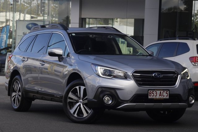 Demo Subaru Outback B6A MY20 2.5i CVT AWD Mount Gravatt, 2020 Subaru Outback B6A MY20 2.5i CVT AWD Ice Silver Metallic 7 Speed Constant Variable Wagon