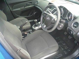 2012 Holden Cruze JH Series II MY13 Equipe Blue 5 Speed Manual Sedan