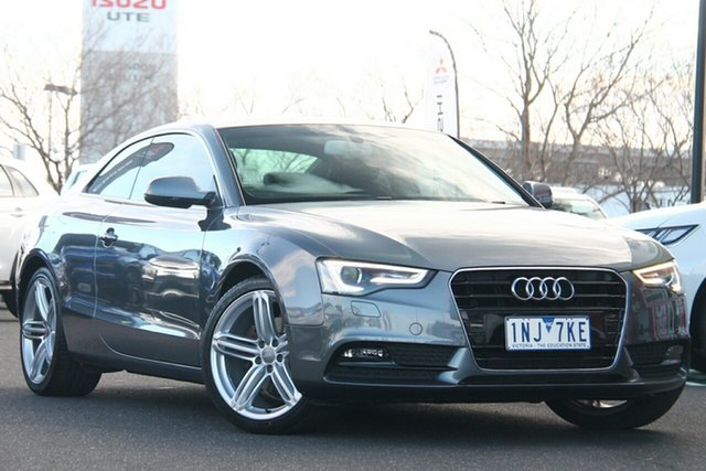 Used Audi A5 8T MY13 Multitronic Essendon Fields, 2013 Audi A5 8T MY13 Multitronic Grey 8 Speed Constant Variable Coupe