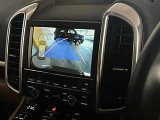 2016 Porsche Cayenne 92A MY16 Diesel Tiptronic Blue 8 Speed Sports Automatic Wagon