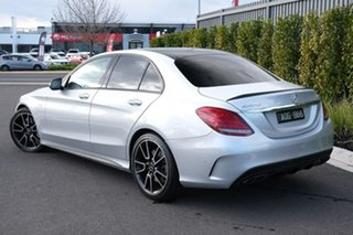 2017 Mercedes-Benz C-Class W205 807+057MY C43 AMG 9G-Tronic 4MATIC Silver 9 Speed Sports Automatic.