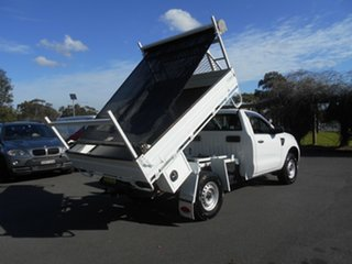 2015 Ford Ranger PX XL 3.2 (4x4) White 6 Speed Manual Cab Chassis.