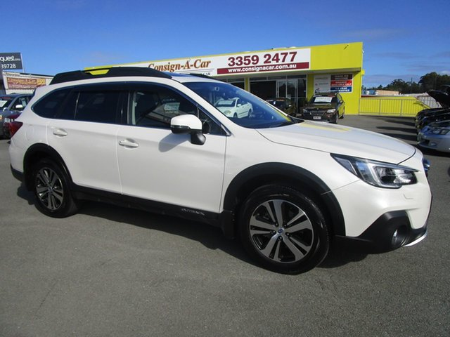Used Subaru Outback B6A MY18 2.5i CVT AWD Premium Kedron, 2018 Subaru Outback B6A MY18 2.5i CVT AWD Premium White 7 Speed Constant Variable Wagon