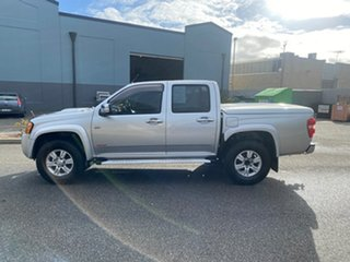 2008 Holden Colorado RC LT-R Crew Cab Silver 4 Speed Automatic Utility