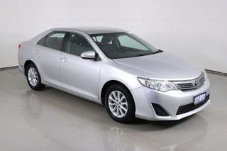 2012 Toyota Camry ASV50R Altise Silver 6 Speed Automatic Sedan