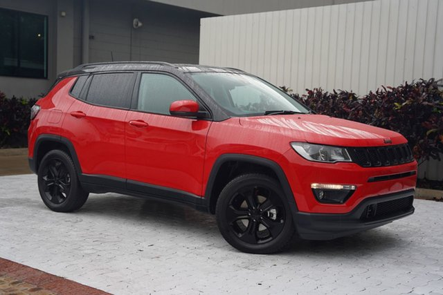 Used Jeep Compass M6 MY20 Night Eagle FWD Cairns, 2020 Jeep Compass M6 MY20 Night Eagle FWD Red 6 Speed Automatic Wagon