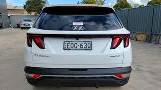 2021 Hyundai Tucson NX4.V1 MY22 Elite D-CT AWD White Cream 7 Speed Sports Automatic Dual Clutch.