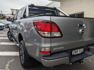 2018 Mazda BT-50 UR0YG1 XTR 4x2 Hi-Rider Silver 6 Speed Manual Utility