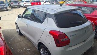 2021 Suzuki Swift SWIFT6 SWIFT GL+ NAVIGATOR (WITH SAFTEY PACK) Pure White Pearl Hatchback
