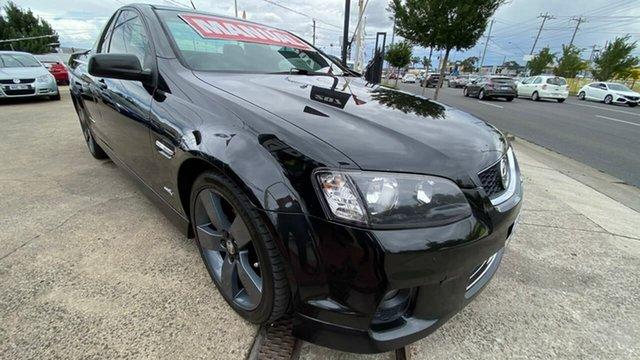 Used Holden Ute VE II SV6 Thunder Maidstone, 2012 Holden Ute VE II SV6 Thunder Black 6 Speed Manual Utility