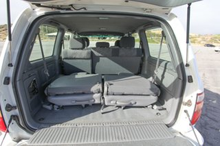 2000 Toyota Landcruiser FZJ105R GXL White 4 Speed Automatic Wagon