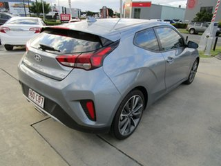 2019 Hyundai Veloster JS MY20 Coupe Silver 6 Speed Automatic Hatchback