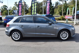 2016 Audi A3 8V MY17 Sportback S Tronic Grey 7 Speed Sports Automatic Dual Clutch Hatchback.