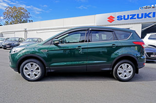 2015 Ford Kuga TF MY15 Ambiente AWD Green 6 Speed Sports Automatic Wagon