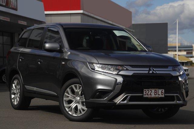 Demo Mitsubishi Outlander ZL MY21 ES 2WD Mount Gravatt, 2021 Mitsubishi Outlander ZL MY21 ES 2WD Titanium 6 Speed Constant Variable Wagon