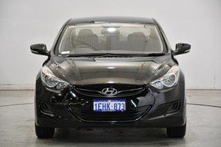 2012 Hyundai Elantra MD2 Active Phantom Black 6 Speed Sports Automatic Sedan.