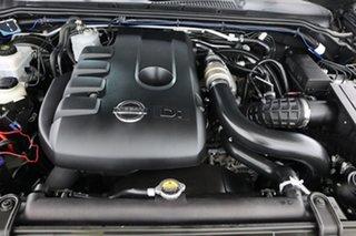 2009 Nissan Navara D40 ST-X (4x4) Grey 6 Speed Manual Dual Cab Pick-up