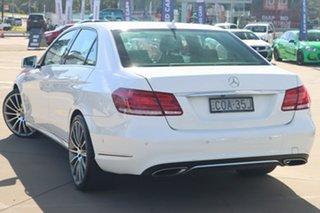2013 Mercedes-Benz E-Class W212 MY13 E200 7G-Tronic + White 7 Speed Sports Automatic Sedan.