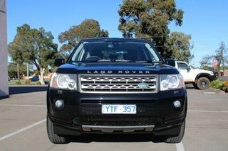 2012 Land Rover Freelander 2 LF MY12 TD4 (4x4) Black 6 Speed Automatic Wagon.