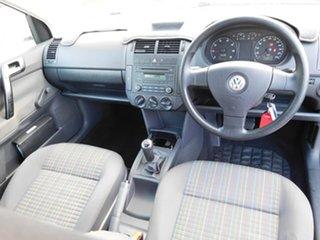 2008 Volkswagen Polo 9N MY2008 Club White 5 Speed Manual Hatchback