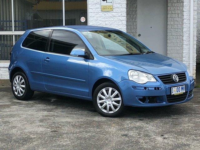 Used Volkswagen Polo 9N MY2009 Edition Derwent Park, 2008 Volkswagen Polo 9N MY2009 Edition Blue 6 Speed Sports Automatic Hatchback