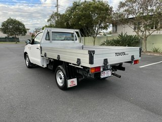 2015 Toyota Hilux TGN16R Workmate White 5 Speed Manual Single Cab