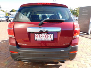 2017 Holden Captiva CG MY17 Active 2WD Red 6 Speed Sports Automatic Wagon