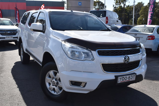 Used Holden Colorado RG MY16 LS-X Crew Cab Tuggerah, 2016 Holden Colorado RG MY16 LS-X Crew Cab White 6 Speed Sports Automatic Utility
