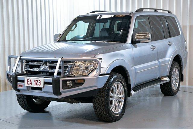 Used Mitsubishi Pajero NW MY13 Exceed Hendra, 2013 Mitsubishi Pajero NW MY13 Exceed Silver 5 Speed Sports Automatic Wagon