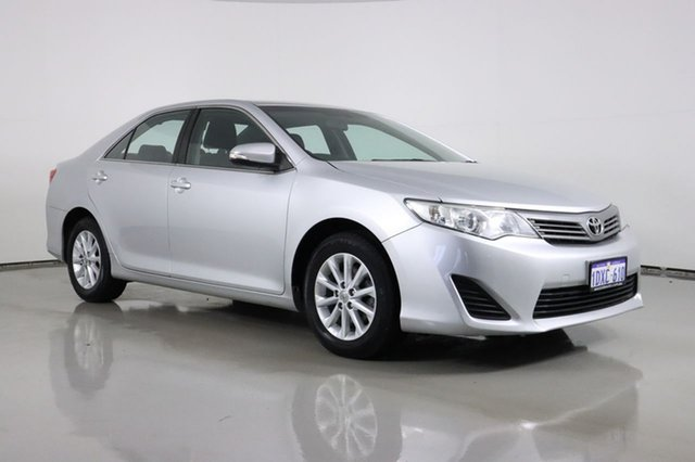 Used Toyota Camry ASV50R Altise Bentley, 2012 Toyota Camry ASV50R Altise Silver 6 Speed Automatic Sedan