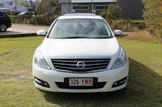 2009 Nissan Maxima J32 350 X-tronic Ti White 6 Speed Constant Variable Sedan.