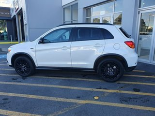 2018 Mitsubishi ASX XC MY19 Black Edition 2WD White 1 Speed Constant Variable Wagon