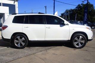 2011 Toyota Kluger GSU40R MY11 KX-S 2WD White 5 Speed Sports Automatic Wagon