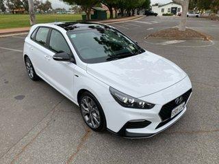 2021 Hyundai i30 PD.V4 MY21 N Line D-CT Premium Polar White 7 Speed Sports Automatic Dual Clutch
