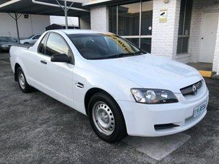 2008 Holden Ute VE Omega Heron White 4 Speed Automatic Utility.