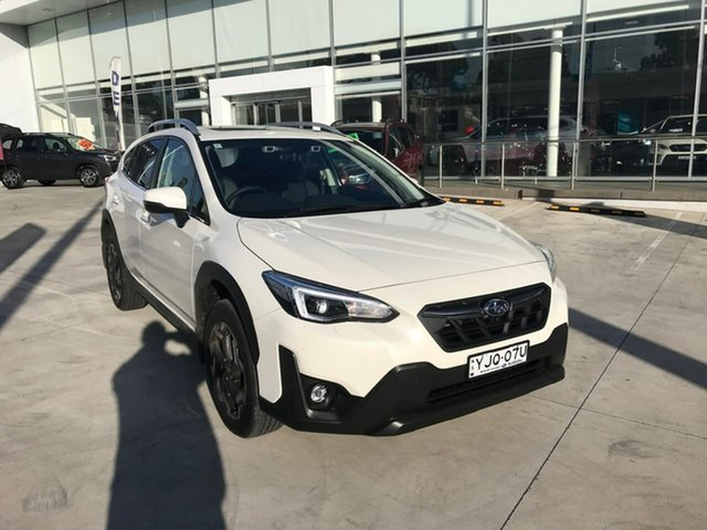 Demo Subaru XV G5X MY21 2.0i-S Lineartronic AWD Liverpool, 2021 Subaru XV G5X MY21 2.0i-S Lineartronic AWD Crystal White 7 Speed Constant Variable Wagon