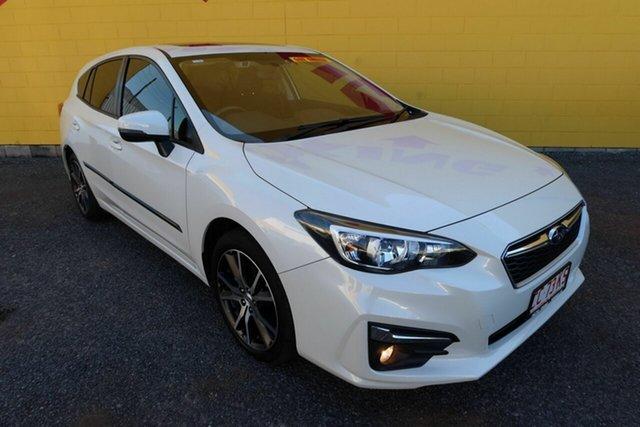 Used Subaru Impreza G5 MY17 2.0i Premium CVT AWD Winnellie, 2017 Subaru Impreza G5 MY17 2.0i Premium CVT AWD White 7 Speed Constant Variable Hatchback