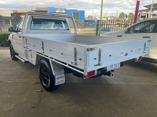 2012 Ford Ranger PX XL 3.2 (4x4) White 6 Speed Automatic Cab Chassis.