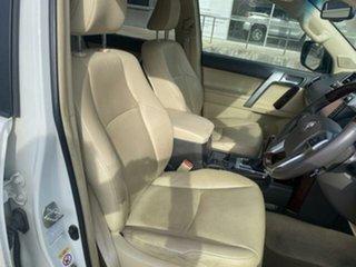 2015 Toyota Landcruiser Prado GDJ150R MY16 Kakadu (4x4) White 6 Speed Automatic Wagon.